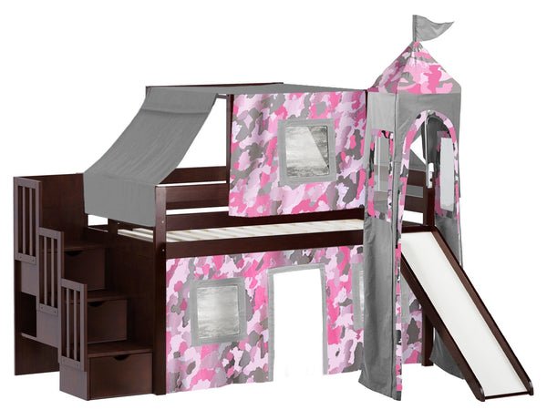 coaster bunk bed with slide and tent assembly instructions