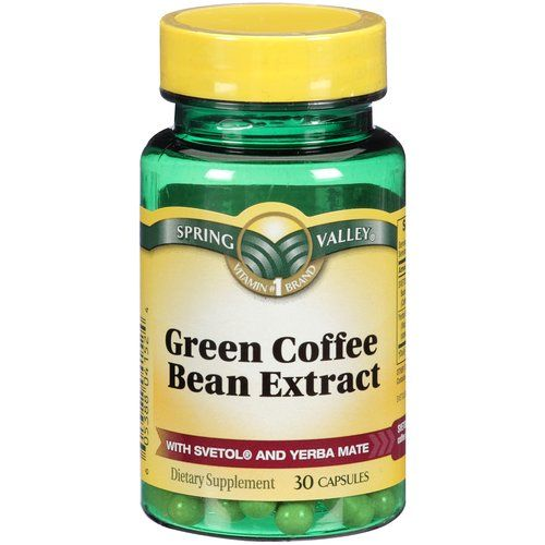 green coffee bean extract dosage instructions