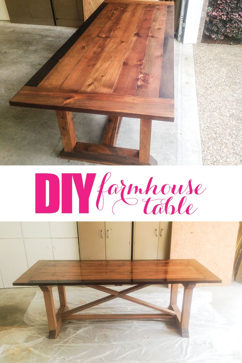 farmhouse dining table instructions