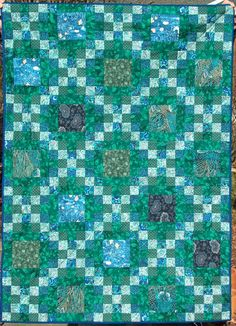 double irish chain quilt pattern instructions