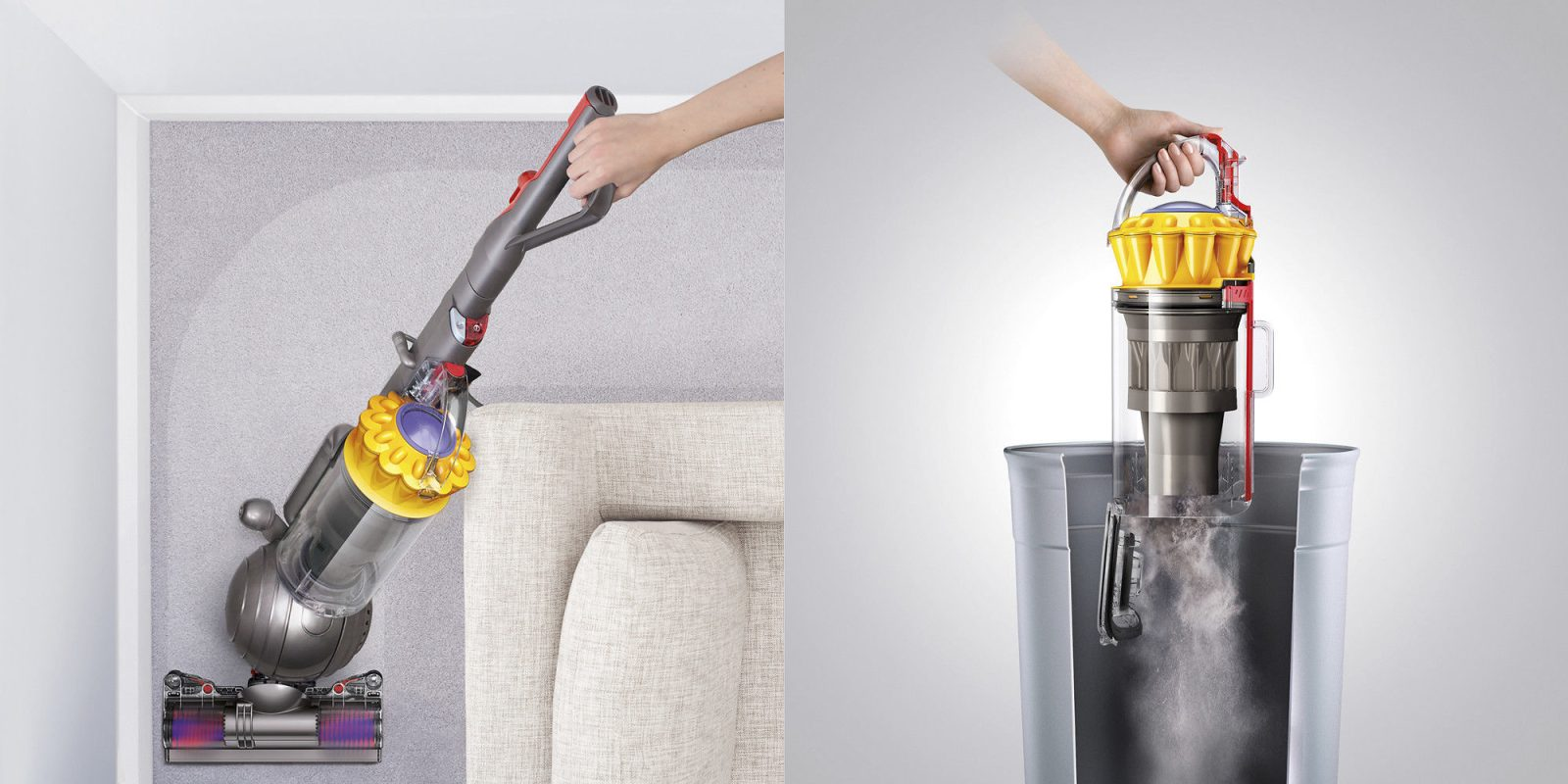 dyson ball multi floor upright vacuum instructions