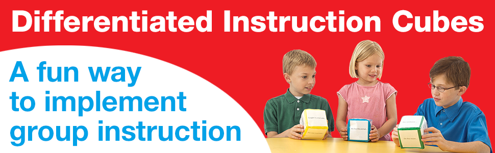differentiated instruction cubes amazon