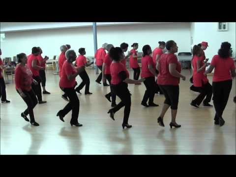 16 step line dance instructions