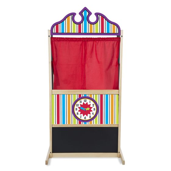 melissa and doug puppet theater instructions