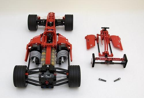 lego technic mercedes benz actors instruction model c