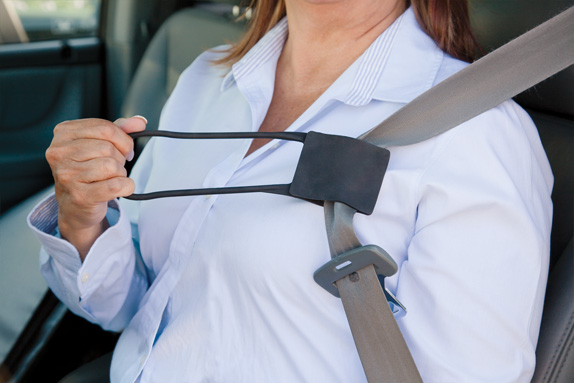 auto drive seat belt comfort clips instructions