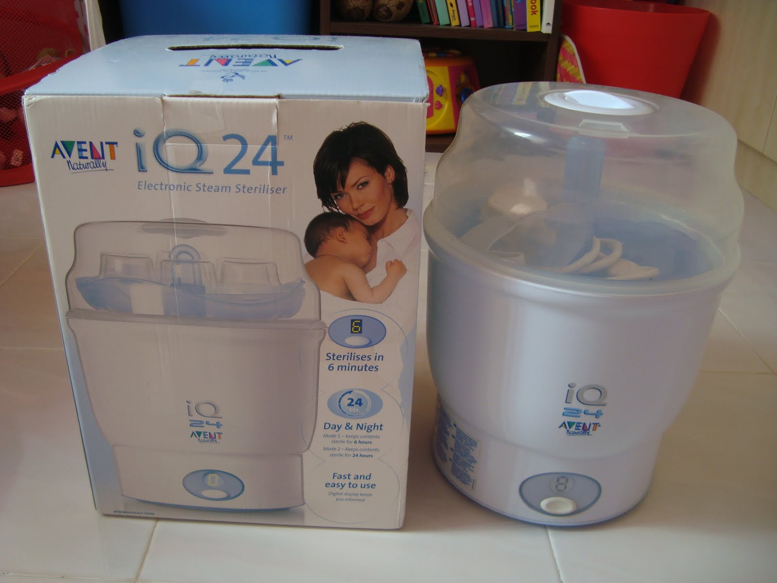avent isis iq duo instruction manual