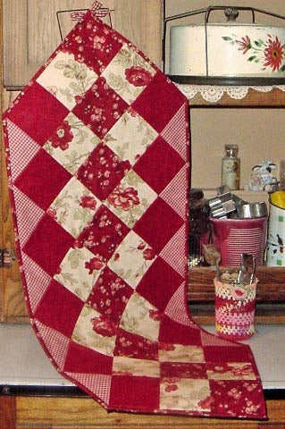 crazy quilt table runner instructions