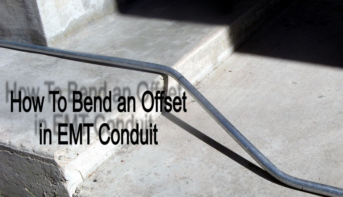 emt electrical conduit pipe bending instructions