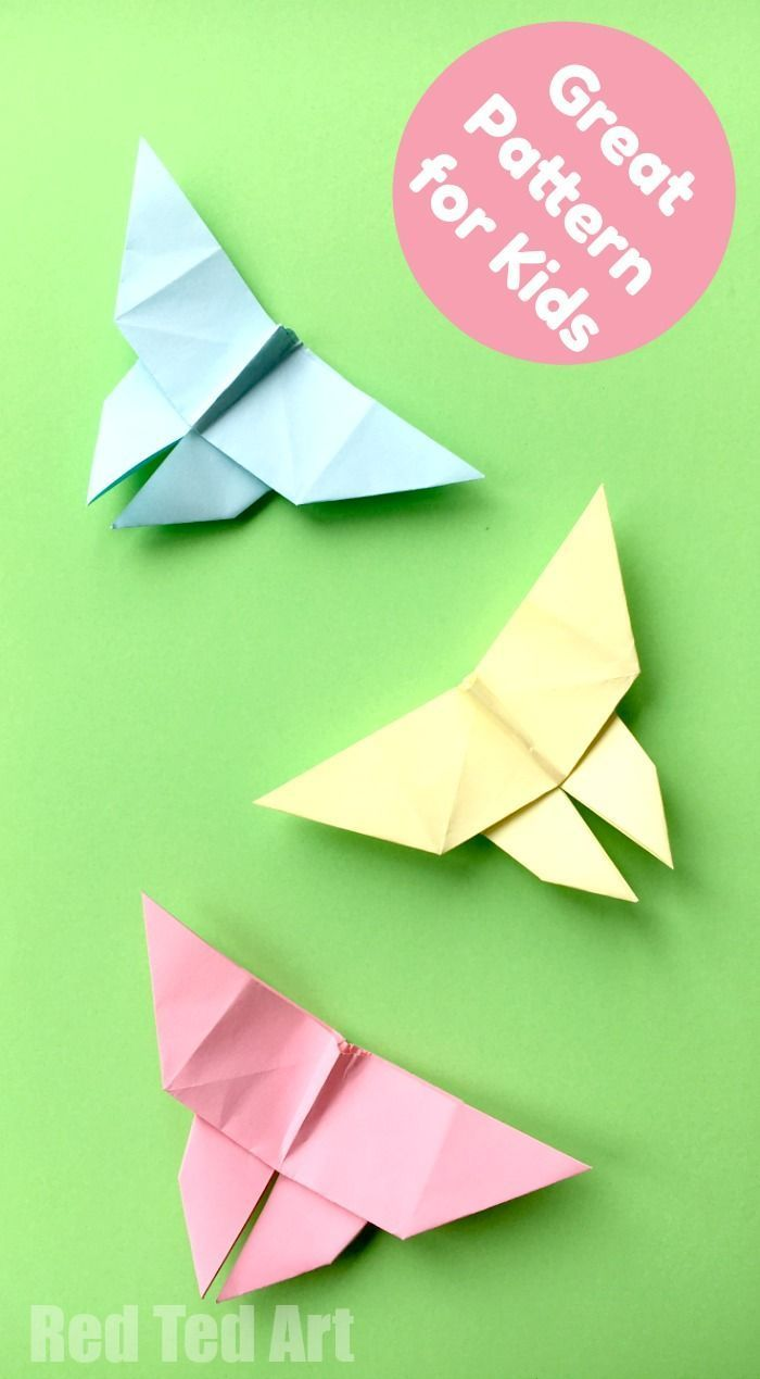 origami butterfly instructions pinterest