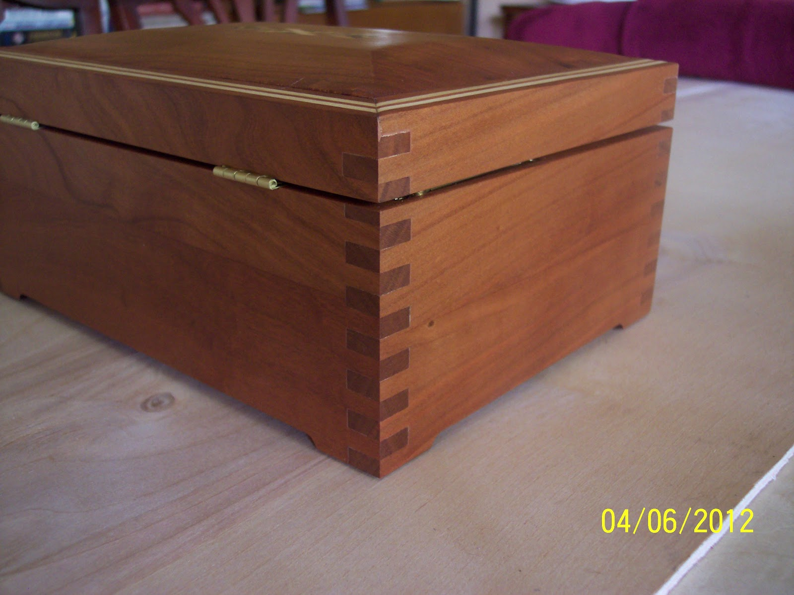 finger joint box instructions