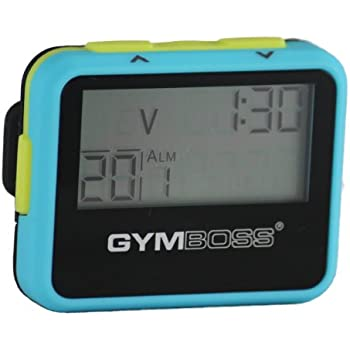 gymboss interval timer and stopwatch instructions