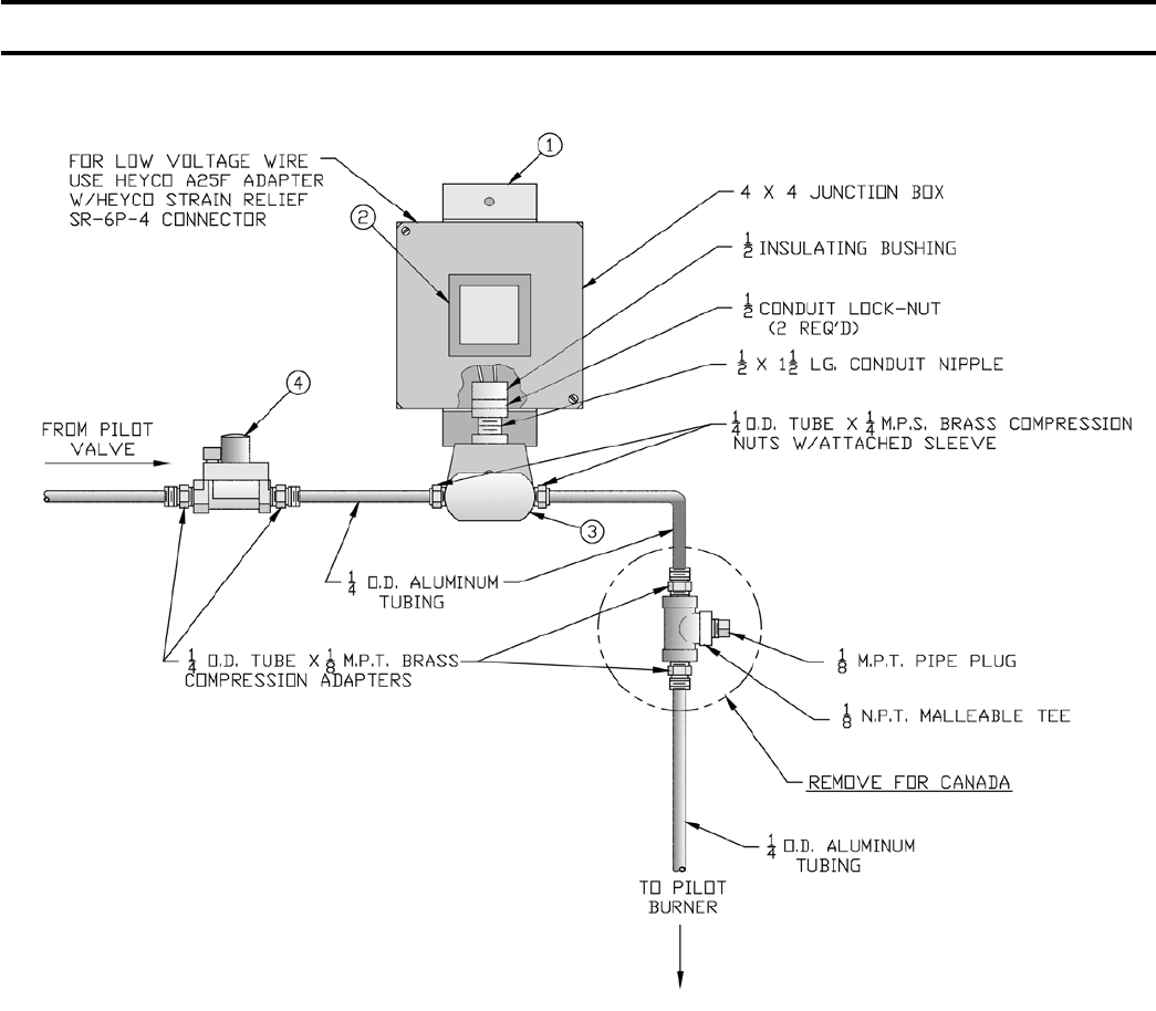 honeywell thermocouple installation instructions