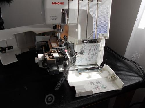 janome overlocker 644d instruction manual