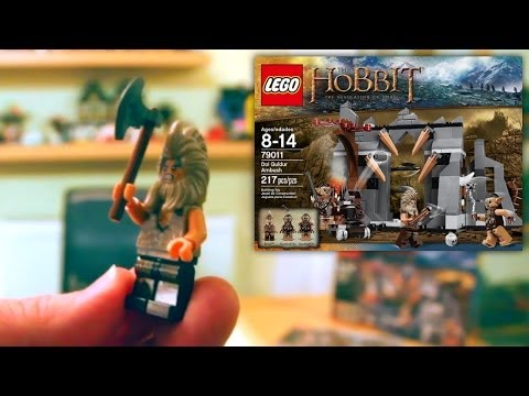 lego dol guldur ambush instructions