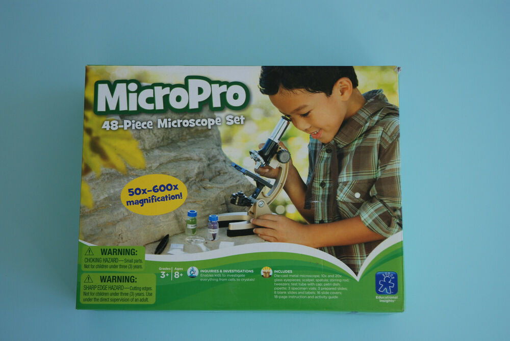 micropro 48 piece microscope set instructions