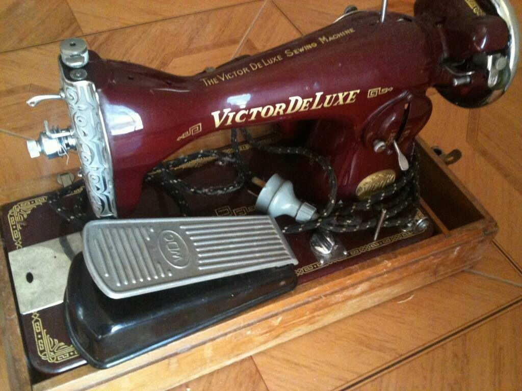 myer victor sewing machine instructions
