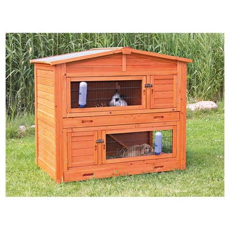 trixie small animal hutch instructions